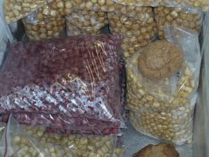 Boilies maken - inpakken